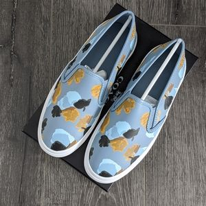 NIB Coach Chrissy Slip-on Sneakers in Cornflower